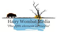 Hairy Wombat Media website design